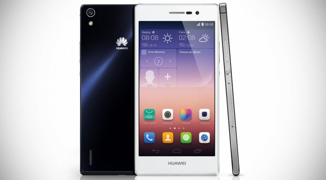 Huawei Ascend P7 Is 6.5mm Thin, Packs 5″ FHD Display and More For Just €449