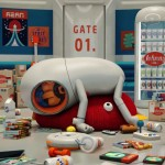 Johnny Express – An Animated Short Film About The Laziest Space Delivery Man