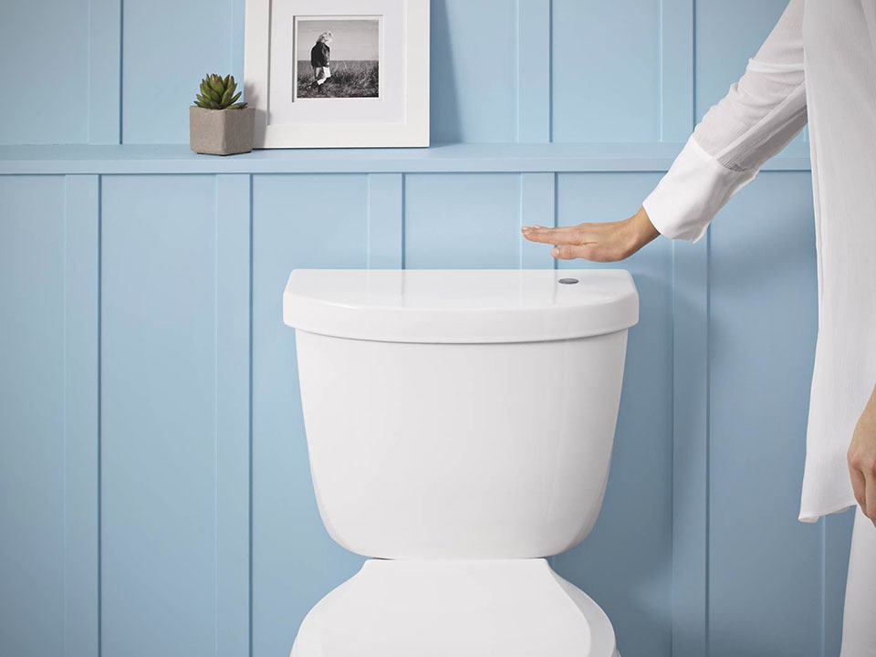 This Kit Will Equip Your Toilet With No Touch Flush
