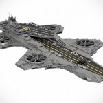 This LEGO The Avengers Helicarrier Is The Result Of Over 22,000 Bricks