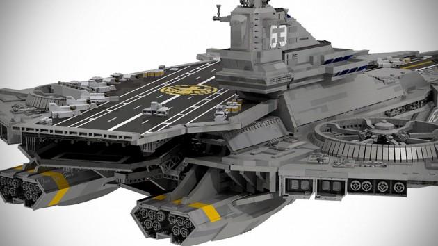 LEGO The Avengers Helicarrier
