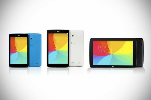 LG G Pad Series Tablets