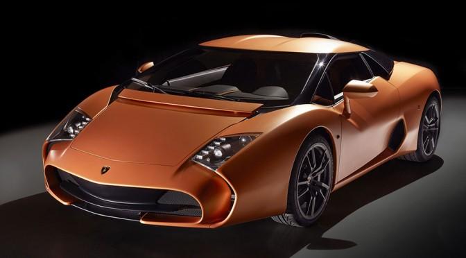 Lamborghini 5-95 Zagato Show-offed At Concorso d'Eleganza Villa d'Este