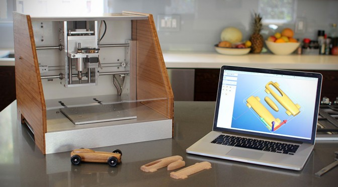 Nomad CNC Mill Wants You To Turn Your Desktop Into A Workshop