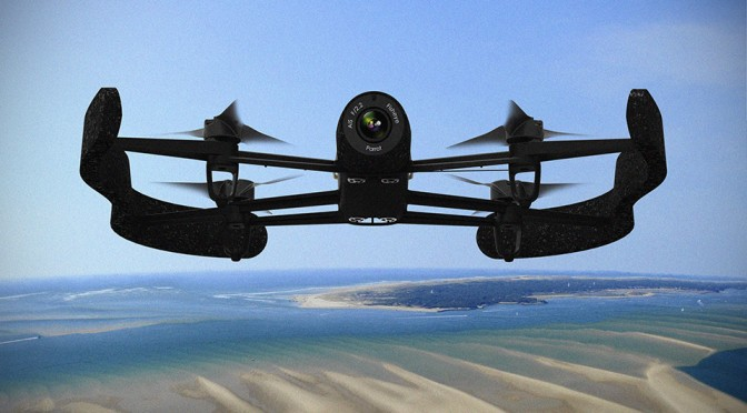 Parrot Bebop Drone Wants You To Take Aerial Video Like A Pro