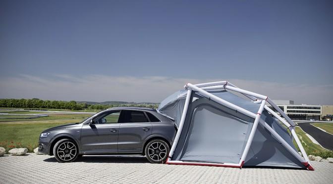 HEIMPLANET Designed This Special Camping Tent For Audi Q3 Quattro