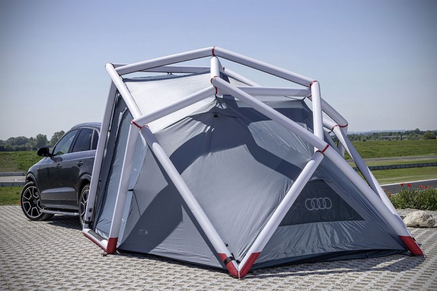 Heimplanet Designed This Special Camping Tent For Audi Q3