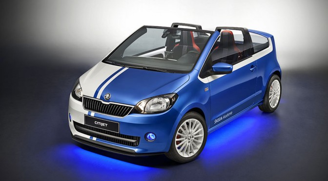 Skoda CitiJet Concept Is The CitiGo Without A Roof, Heads To Wörthersee