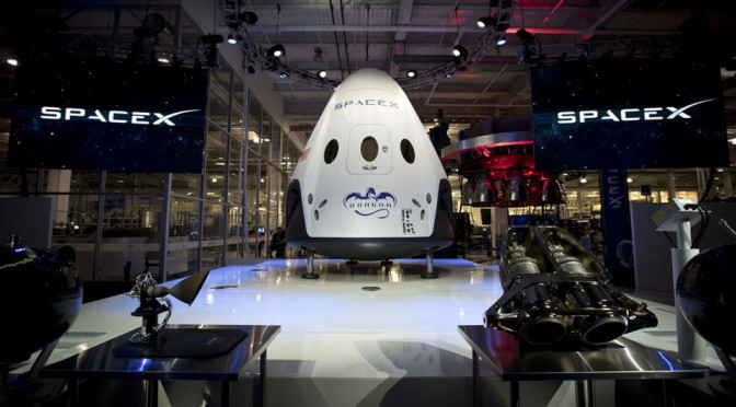 This Is SpaceX Dragon V2. It Can Transport Humans And Promised Soft Landing