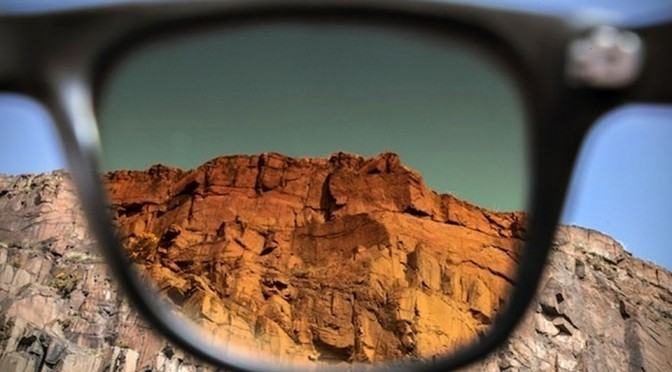 Tens Real Life Photo Filter Sunglasses