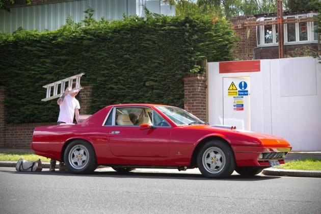The Ferrari 412 Pickup Truck By London Motor Company
