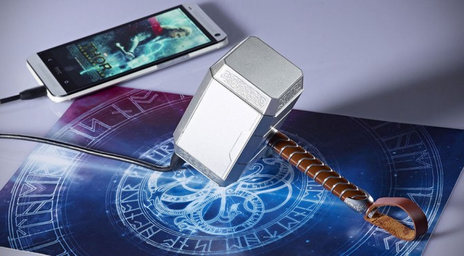 Thor Mjolnir Hammer Power Bank by infoThink