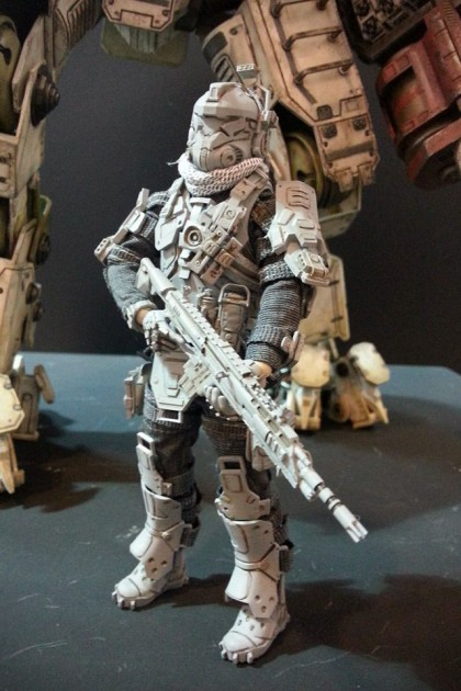Titanfall Atlas with Pilot Action Figure By ThreeZero