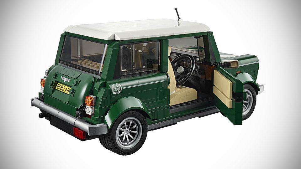 lego mini cooper is official picnic basket comes standard. Black Bedroom Furniture Sets. Home Design Ideas