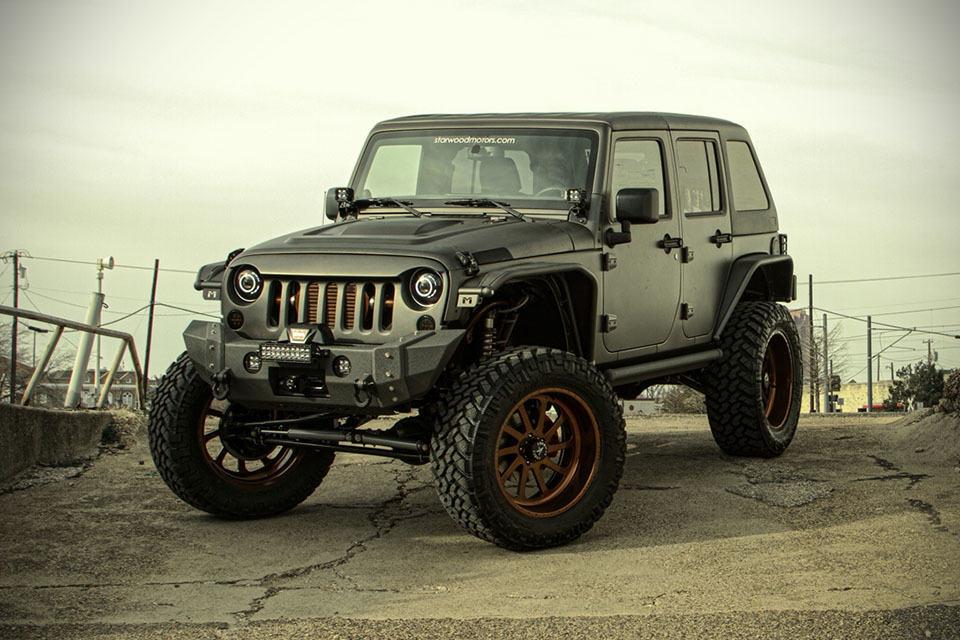 2014 Jeep Wrangler Unlimited Nighthawk By Starwood Motors