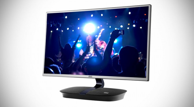 AOC 24-inch IPS LED Display Packs Two 7W Onkyo Speakers At Its Base