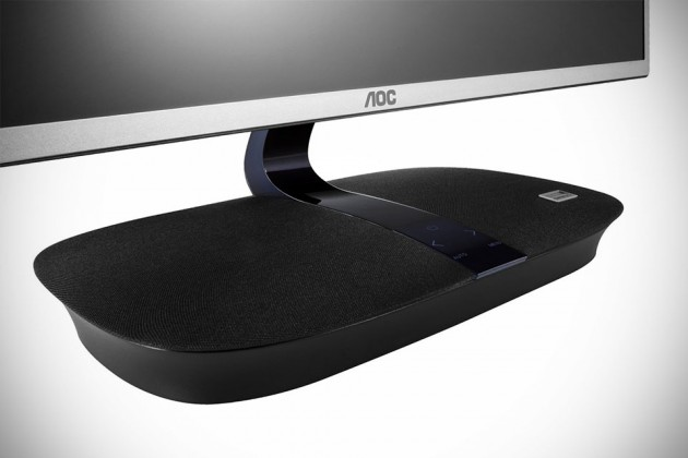 AOC 24-inch Onkyo Speaker Base IPS LED Monitor