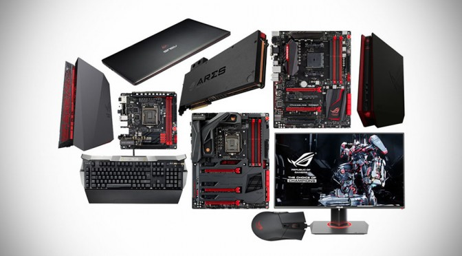 ASUS Republic of Gamers at Computex 2014
