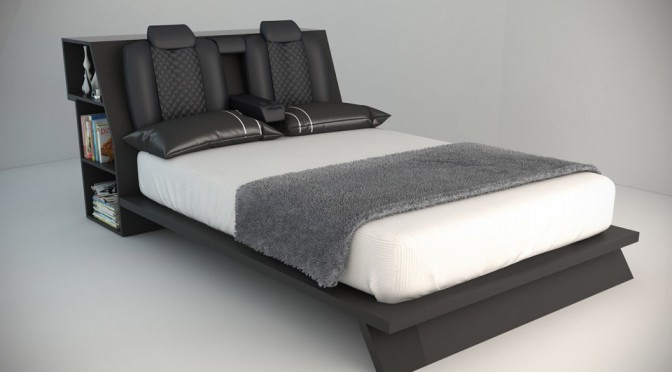 Consolatio Car Bed By Morgann Paull