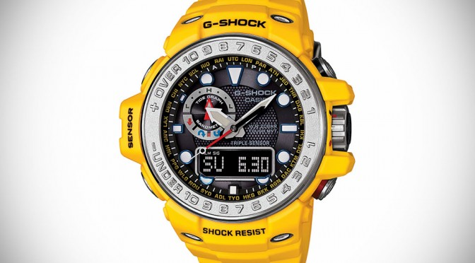 G-SHOCK Outs Ocean Concept Watch, Sports Slew of Sensors For Ocean Adventure