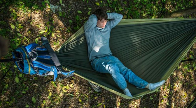 One Less Thing To Carry: A Backpack With An Integrated Hammock