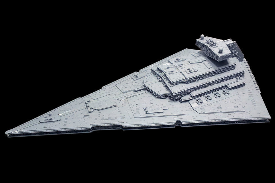 This Is How A 2 Meter 50 Kg Lego Imperial Star Destroyer