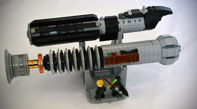 LEGO Lightsabers: Darth Vader and Luke Skywalker