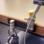 Surprise! Your Favorite LEGO Minifig Could Be A Cable Holder Too
