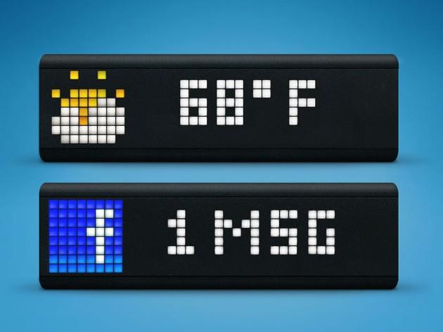 LaMetric Customizable Smart Ticker