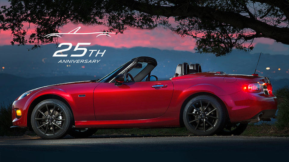 1,000 Mazda MX-5 25th Anniversary Edition To Go On Sale In August ...