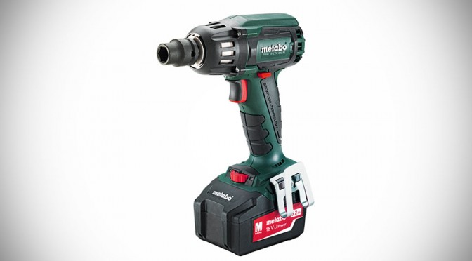 Metabo Introduces New Brushless Impact Wrench, Has 295 ft-lbs of Torque