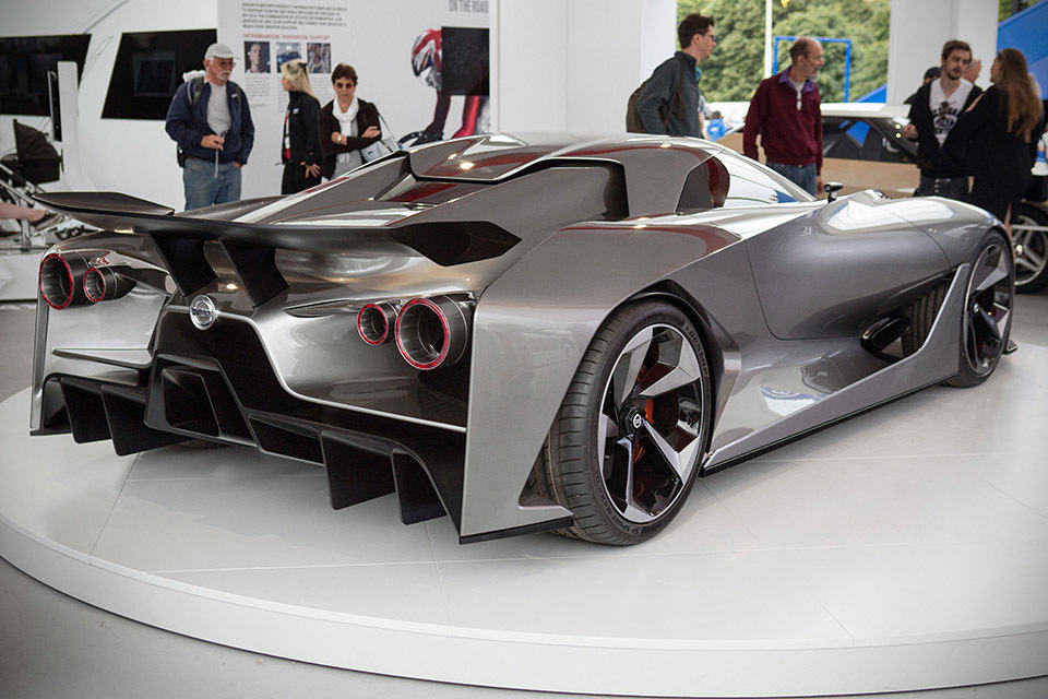Nissan Actually Made A Prototype of The Concept 2020 ...