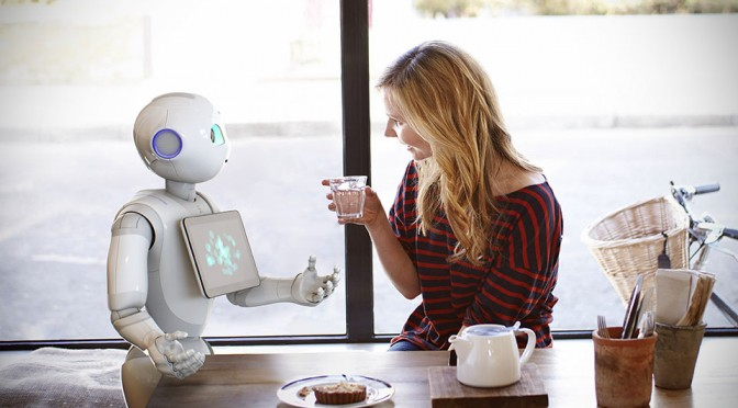 This Is Pepper, The First Personal Robot That Read Emotions