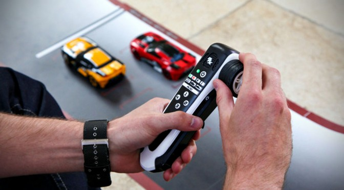 Real Fx Car Racing System Is A Slot Car And A Radio Control Car