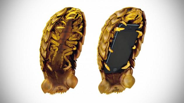 Rhubarb Gusokumushi iPhone Case