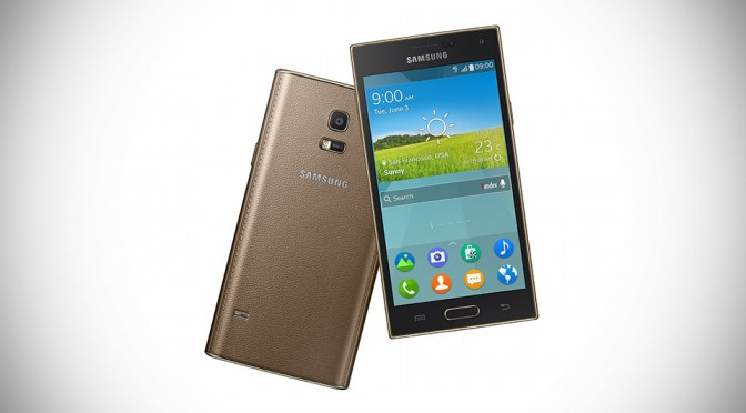 Samsung Z Tizen Phone