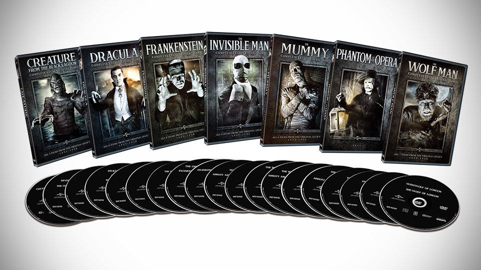 Universal Classic Monsters: Complete 30-Film Collection ...