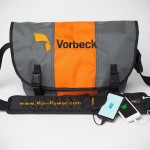 Vor-power Puts Portable Battery Right Into Your Bag's Shoulder Strap