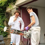 Guy Collaborates With Sugru To Create Super Cool Water Gatling Gun