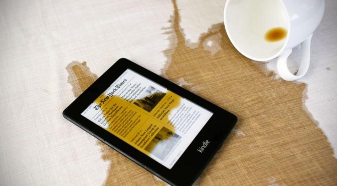Waterfi Waterproofed Kindle Paperwhite