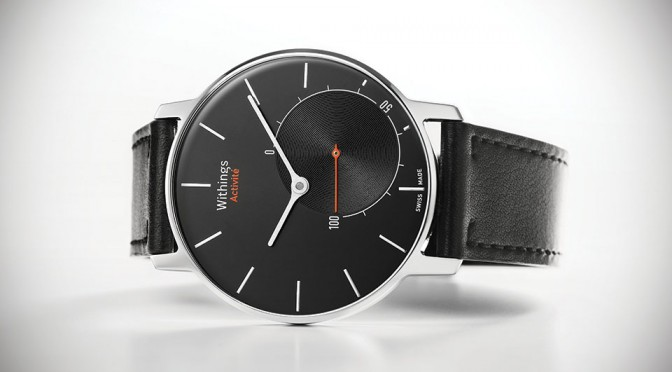You Won't Believe This Sleek Analog Watch Is Also An Activity Tracker