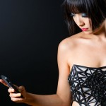 3D Printed Corset Renders Wearer More Naked As Smartphone Data Is Collected