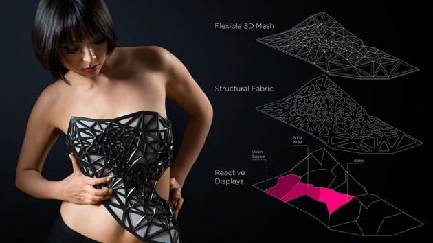 x.pose 3D Printed Data-driven Corset