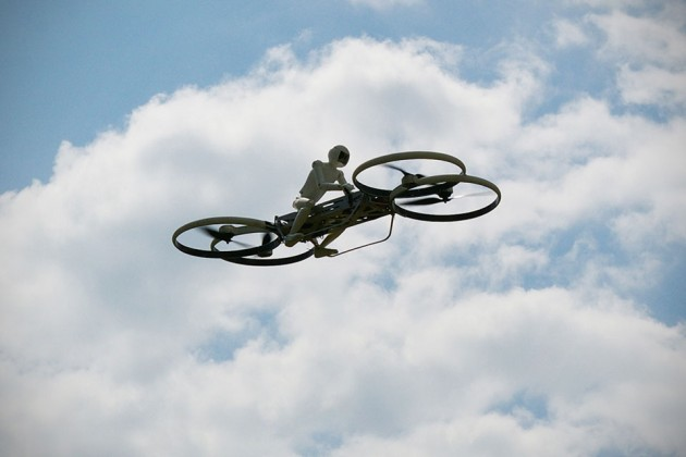 1/3rd Scale Hoverbike Drone