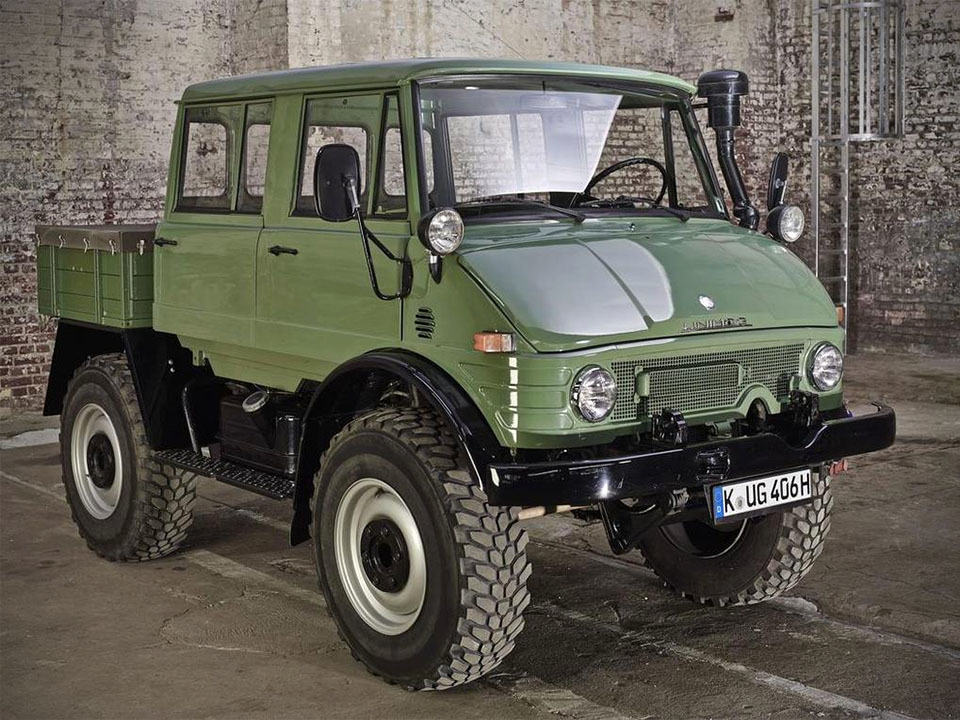 You Won't Believe This Beautiful Unimog Is Nearly Four ...