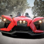 Polaris New Three-wheel Slingshot Is Actually A Belt-driven Motorcycle