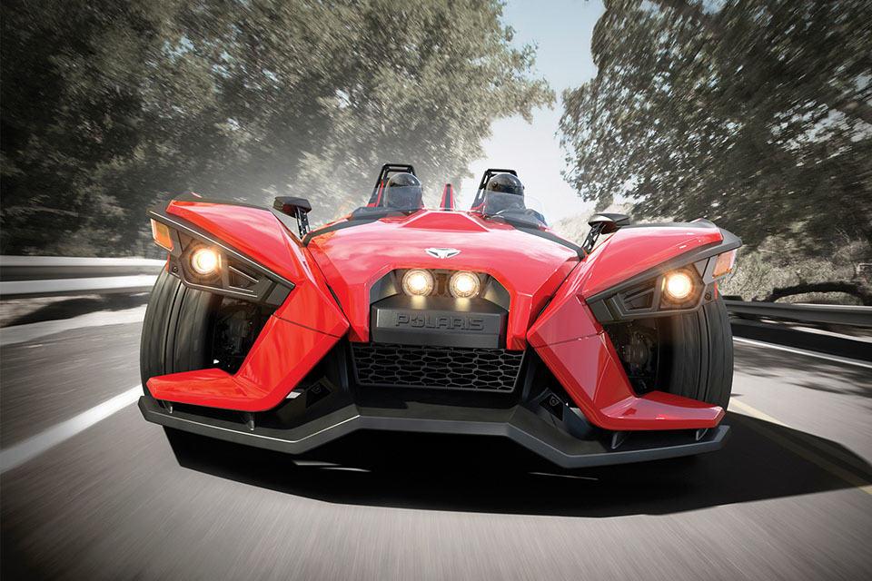 Polaris New Three-wheel Slingshot Is Actually A Belt ...