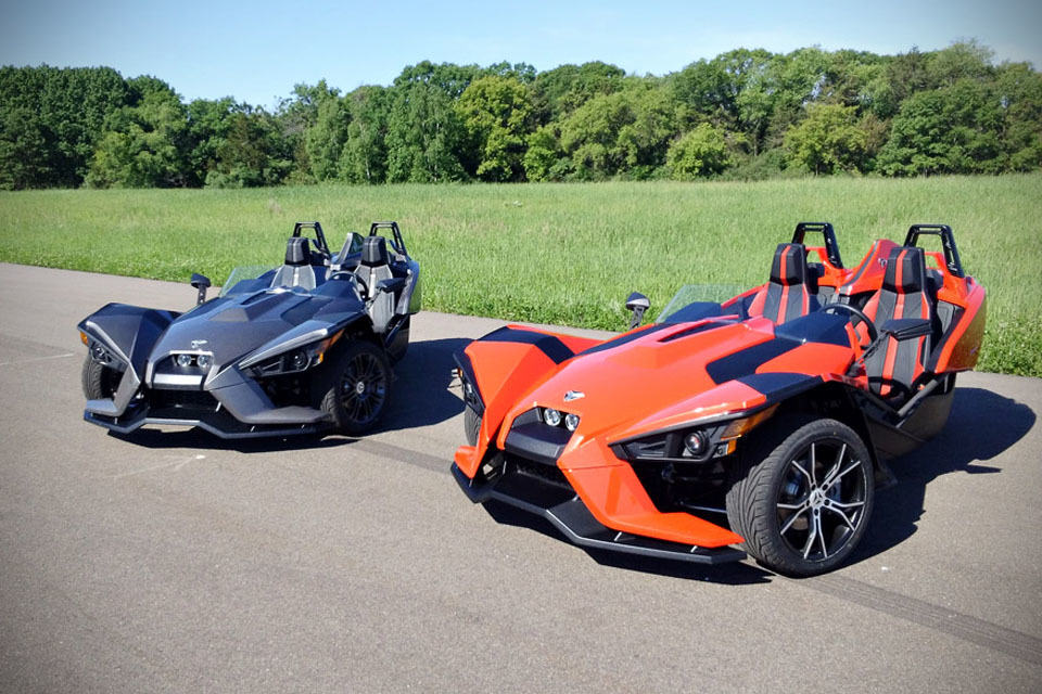 Polaris New Three Wheel Slingshot Is Actually A Belt