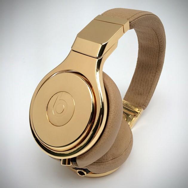 24-carat Gold Dipped Beats Pro