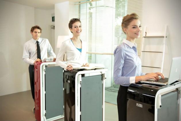 AIBI EZ Tone Desk Treadmill